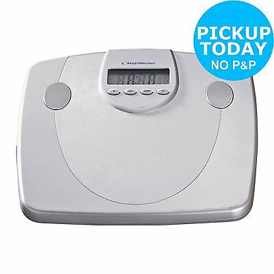 Weight Watchers Precision Body Analyser Scales - Silver:The Official Argos Store