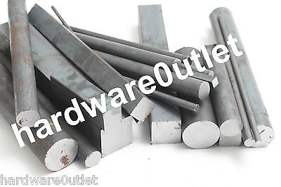 Steel Off Cuts Solid Round, Square & Flat Bar New Mild Steel Sections BARGAIN