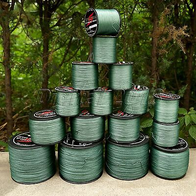 300M 500M 1000M 8 Strands Spectra PE Dyneema Braid Fishing Line 12LB-160LB