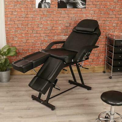 Pedicure Salon Beauty Massage Chair Table Facial Bed Manual Couch
