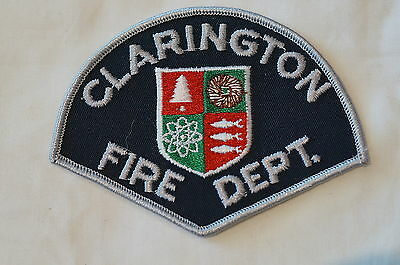 Canadian Ontario Clarington Fire Dept Patch Obsolete