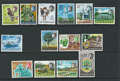 BRITISH INDIAN OCEAN TERRITORY BIOT 1968 QEII definitives (Sc 1-15 no 8) MLH/MNH