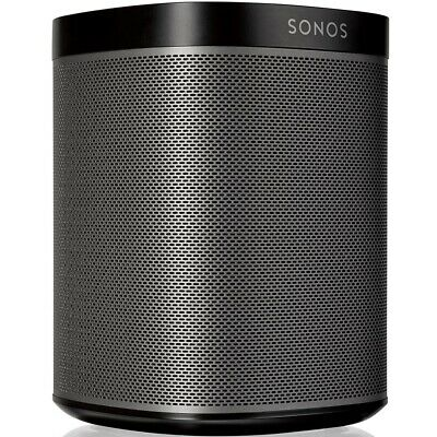 sonos one lautsprecher schwarz mit alexa neu ovp picclick de. Black Bedroom Furniture Sets. Home Design Ideas