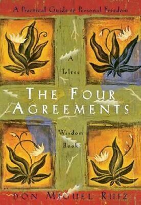 NEW The Four Agreements By Don Miguel Ruiz Paperback Free Shipping