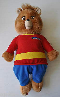 TEDDY RUXPIN 17 inch tall Interactive BEAR / TOY 1998 non-working