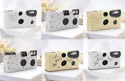 Gold or Silver Disposable Cameras Weddings Reunions Retirements Birthday Party's