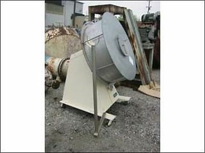 "40"" Stokes Coating Pan / Stainless Steel Contact Parts 230/46V 3Hp Xp- Drive"