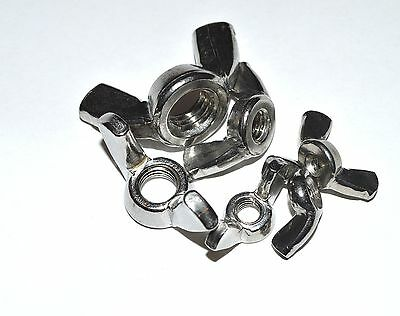 Metric Stainless Wing Nut M4 Package Of 10 Wing Nuts