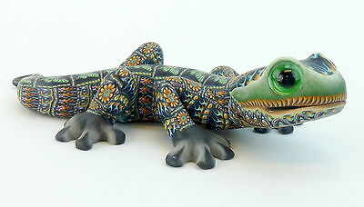FimoCreations Mama Gecko Jon Anderson 2010 Polymer Clay Fimo Creations Butterfly