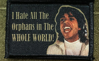 Nacho Libre Movie I Hate All the Orphans Funny Morale Patch Tactical Military