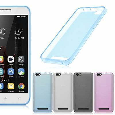 For Lenovo Vibe C A2020 Pudding Soft Silicone Matte Protection Skin Cover Case