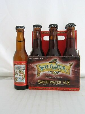 Sweet Water Brewing Company Sweetwater ALE Beer Mini 6 Pack Bottles in Carton