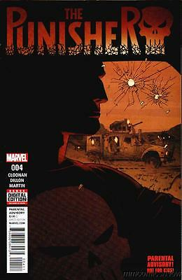 Punisher #4 1st Print All New All Different Marvel 2016