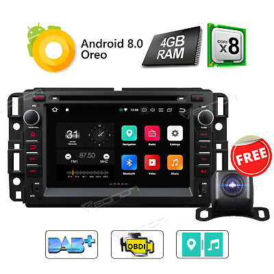"""GA6180F Android 5.1 7"""" Car DVD Player GPS Radio Stereo for Chevrolet GMC Buick E"""