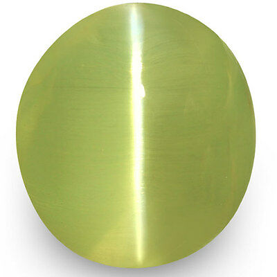 4.53-Carat Exceptional Chrysoberyl Cat's Eye from Sri Lanka (Super Sharp Ray)