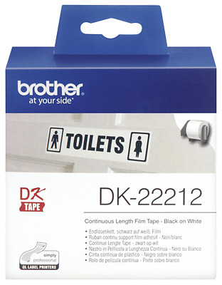Brother Continuous White Film Tape (29Mm)             Dk-22211 New