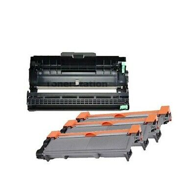 3x TN-2350 Toner + 1x DR2325 Drum Unit for Brother MFC L2703DW L2720DW L2740DW