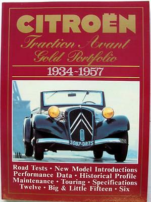 Citroen Traction Avant Gold Portfolio 1934-1957 - R M Clarke Isbn:1855200317