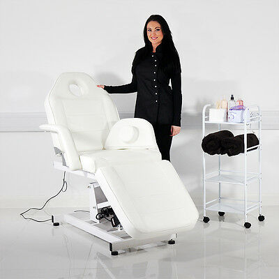 Electric Adjustable Beauty Therapy Salon Treatment Massage Couch Chair