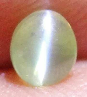 CHRYSOBERYL CATS EYE Natural Gems Oval & Rare Round Cabochon Loose Ring Stones