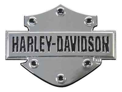 Harley-Davidson Bar & Shield 3D Chrome Decal, XS Size 2.5 x 1.75 inches DC200061