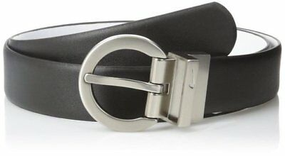 Nike Golf Women's Reversible Classic Leather Belt Black and White NWT