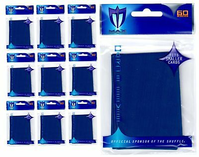 600 MAX PRO SMALL PREMIUM BLUE DECK PROTECTORS SLEEVES Yugioh Lot - New!