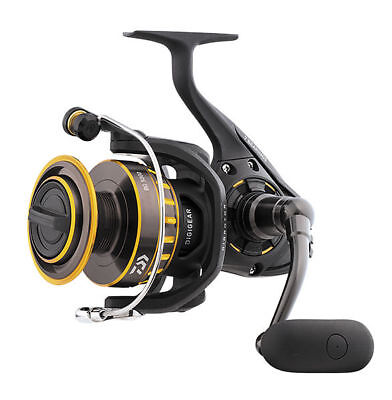 Daiwa BG 6500 Black & Gold Series Spinning Medium Saltwater Reel NIB