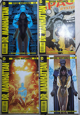 Dr. Manhattan 1 2 3 4 complete set Before Watchmen DC Comics rebirth doctor NM