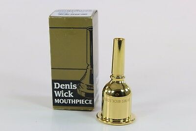 Denis Wick 4 Gold Plated Tuba Mouthpiece QuinnTheEskimo
