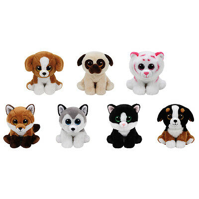 TY Classic Plush - SUMMER 2016 SET of 7 (9.5 inch) (Buff, Fay, Ava, Tabor +4)
