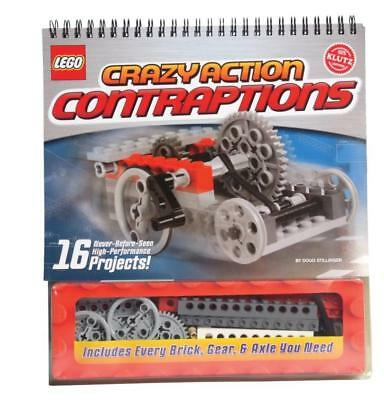 NEW Lego Crazy Action Contraptions By Klutz  Combined Pack with 2 or more items