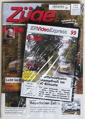 Züge Ausgabe 99 + DVD ER Video Express 99