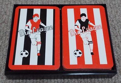 Big League Vintage 1982 Football Playing Card Game - Manchester United Liverpool