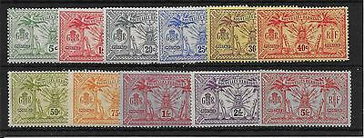 New Hebrides (French) Sgf22/32 1913 Definitive Set Mtd Mint