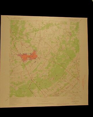 Quakertown Pennsylvania vintage 1969 original USGS Topographical chart
