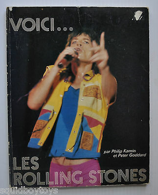 - the ROLLING STONES French Book 1982 w/ photos Philip Kamin / Peter Goddard -