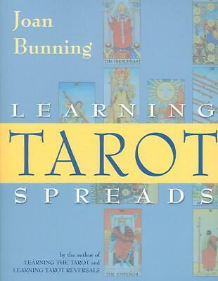Learning Tarot Spreads by Joan Bunning (English) Paperback Book Free Shipping!