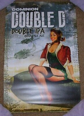 DOMINION Promo Poster print DOUBLE D ipa craft beer brewing brewery