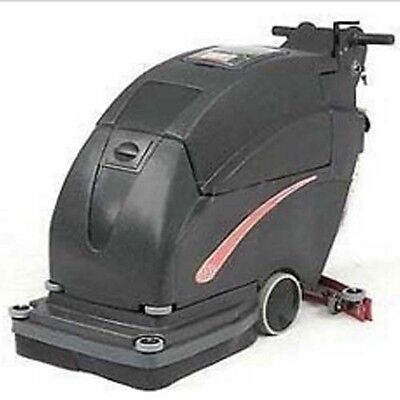 """Auto Floor Scrubber - Cleaning Width 26"""" - Two 215 Amp Batteries - Commercial"""