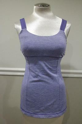 (Z) Lululemon Athletica Women's double strap top size 6 (BL100