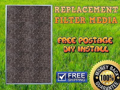 Air Conditioner Return Air Filter Media Material Aircon 400x600mm Replacement