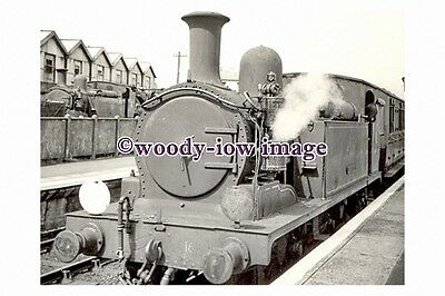 jp0001 - Railway Engine no 16 Ventnor at Ryde Isle of Wight - photograph