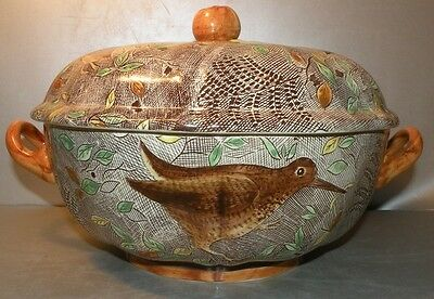 NEW Covered Soup Tureen, Rambouillet  GIEN France