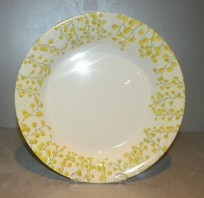 NEW Rim Soup Plate Mimosa Pattern  GIEN