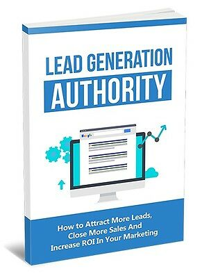 The Lead Generation Authority Guide- eBook, Videos and Bonuses on 1 CD