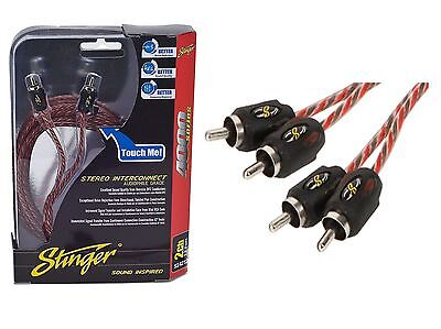 Stinger RCA Cable SI4217 17 Feet 2 Channel Stereo Interconnect 4000 Series
