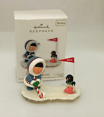 Hallmark Keepsake Series Ornament 2012 Frosty Friends #33 - #QX8044-SDB