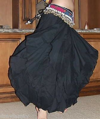 TRIBAL COTTON BLACK ENDLESS WAVE HAREM PANTS, for BELLY DANCE, Hand Made  INDIA