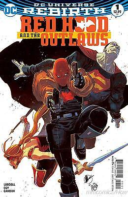 Red Hood and the Outlaws #1 Variant DC Comics Rebirth